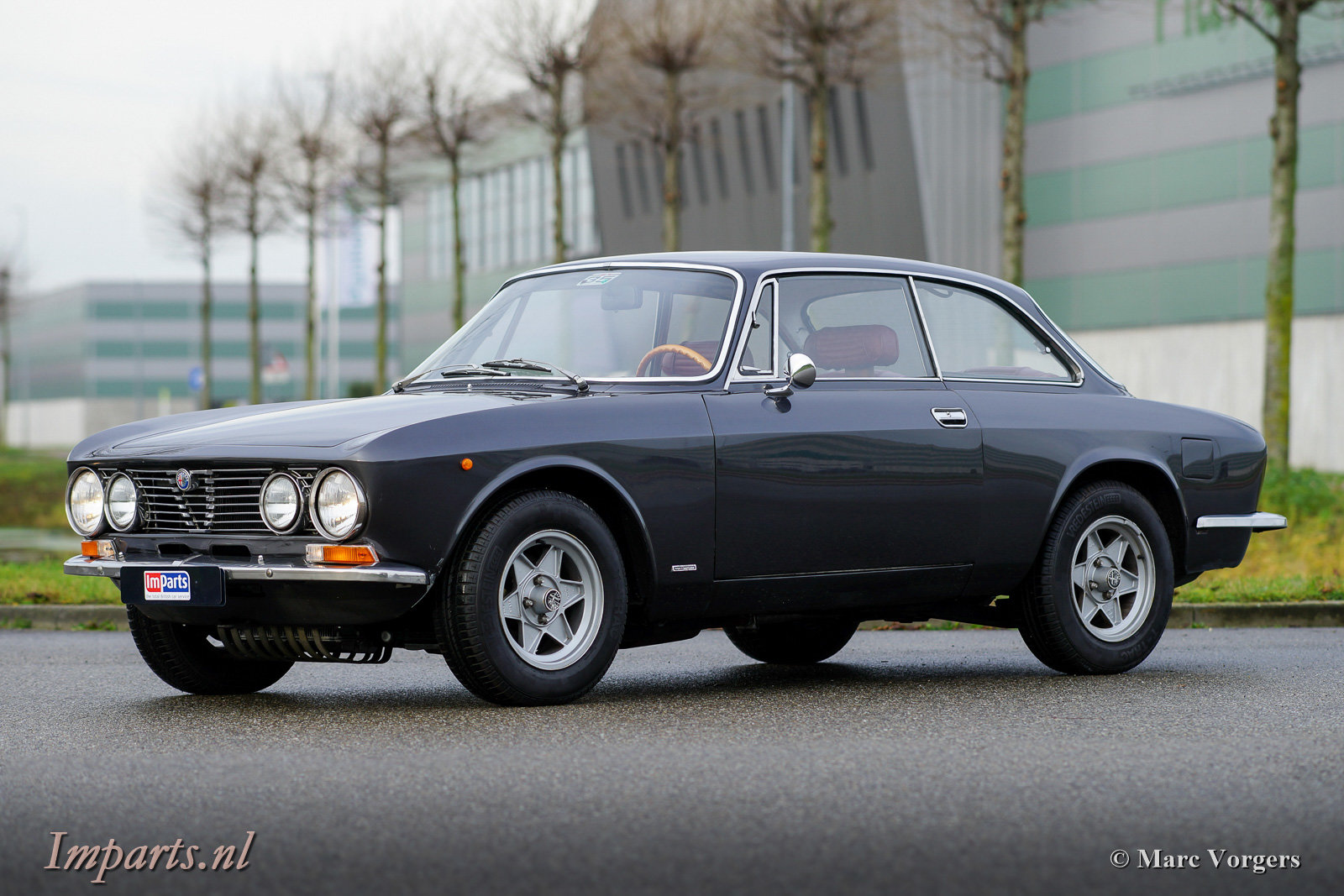 1975 Very nice Alfa Romeo GT Junior 1300 Lusso LHD For Sale (picture 1 of 6)