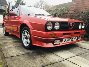 1989 Alfa Romeo 1.7 Sprint Veloce For Sale