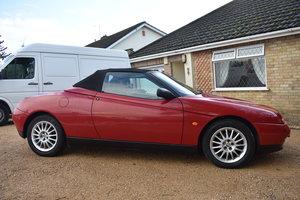 Lot 8 - A 1997 Alfa Romeo Spider 16V T-Spark - 02/2/2020