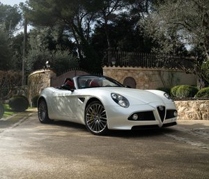 2012 Alfa Romeo 8C Spider One-Off - 3,000 Miles For Sale