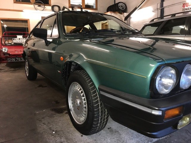 1987 Alfa Romeo Sprint very rare1.3  and rust free  For Sale (picture 6 of 6)