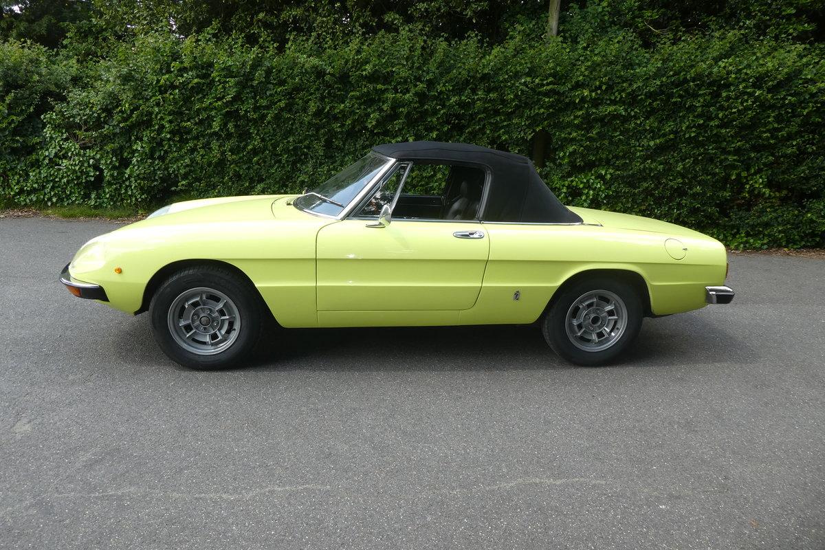 1972 Alfa Spider 2.0 For Sale (picture 1 of 6)