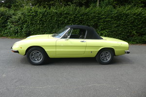 1972 Alfa Spider 2.0 For Sale
