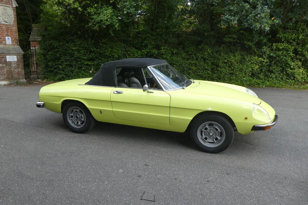 1972 Alfa Spider 2.0 For Sale (picture 2 of 6)