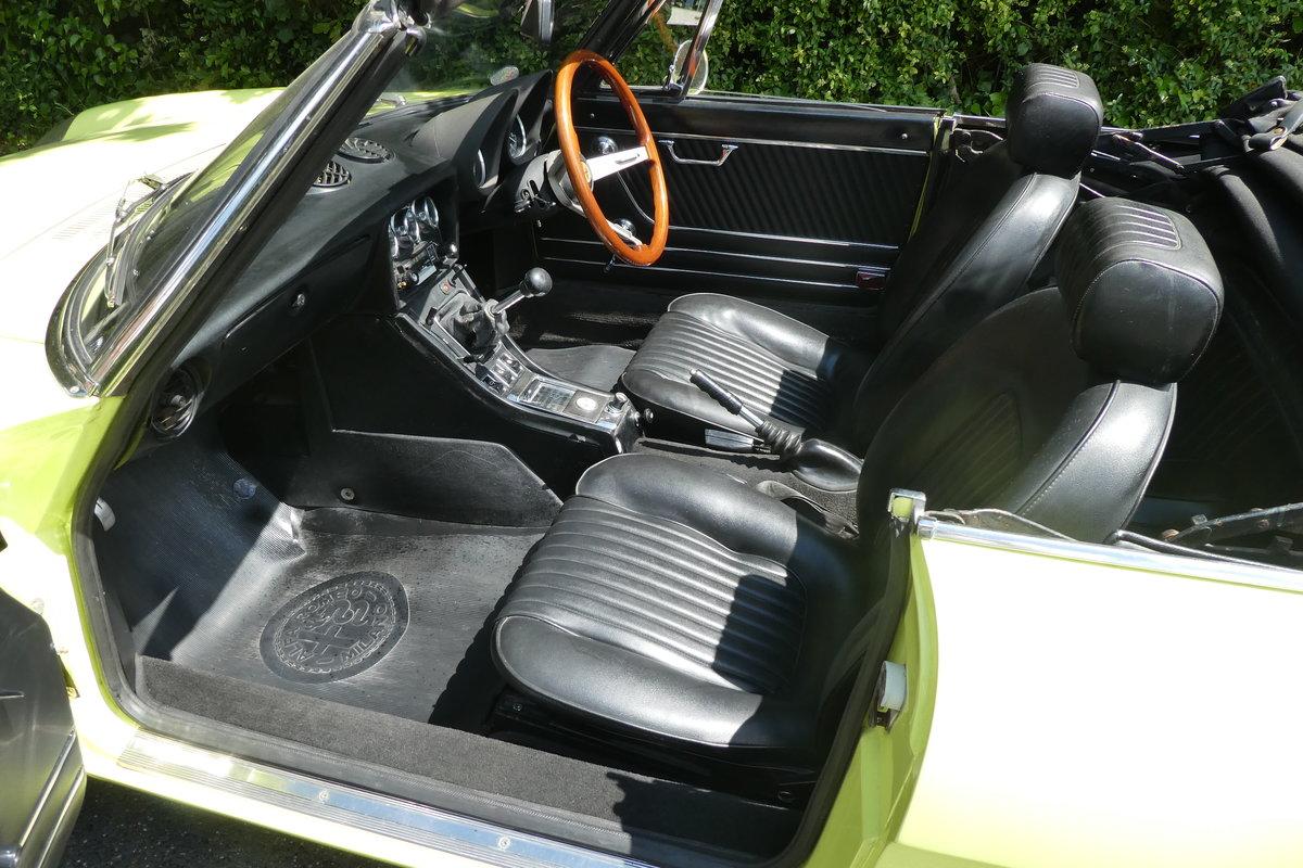 1972 Alfa Spider 2.0 For Sale (picture 5 of 6)