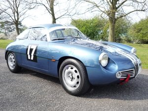 1961 Alfa Giulietta SZ Zagato For Sale