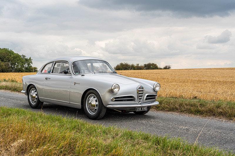 1957 Alfa Romeo Giulietta Sprint Veloce Alleggerita by Facetti For Sale (picture 1 of 6)