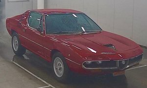 1975 Alfa Romeo Montreal Coupe Red(~)Black 39k km $45k usd For Sale