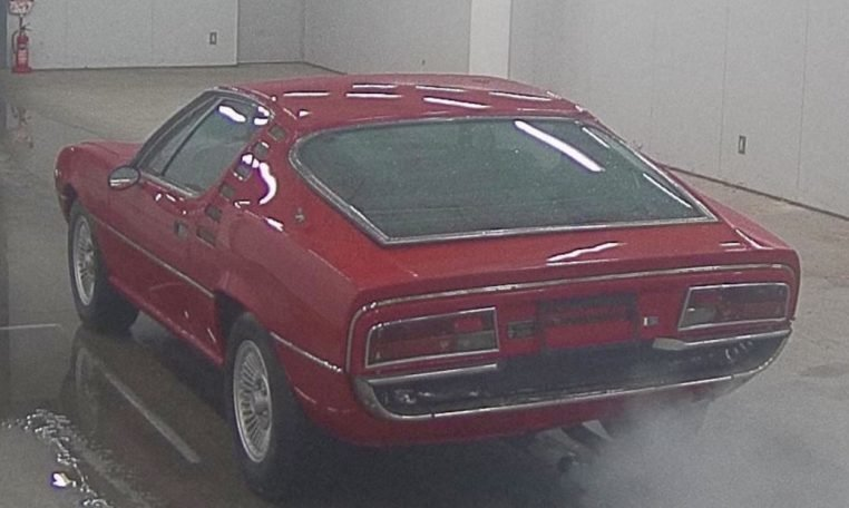 1975 Alfa Romeo Montreal Coupe Red(~)Black 39k km  For Sale (picture 2 of 6)