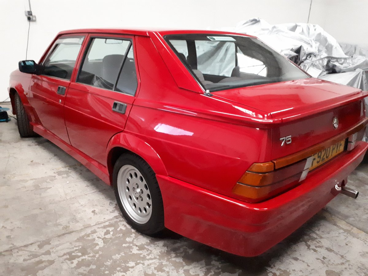 1988 Alfa Romeo 75 3.0 6V Veloce SOLD (picture 5 of 6)