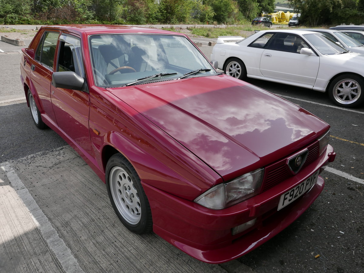 1988 Alfa Romeo 75 3.0 6V Veloce SOLD (picture 1 of 6)