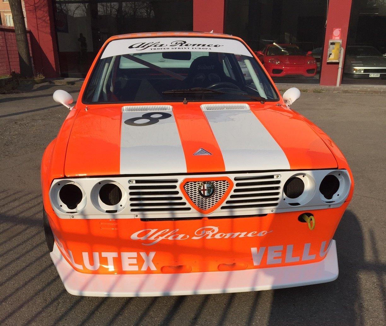 1982 Alfa Romeo SPRINT - Period RACE CAR AUTODELTA For Sale (picture 2 of 6)