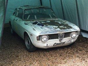 1965 ALFA ROMEO GIULIA SPRINT GT RHD SOLD