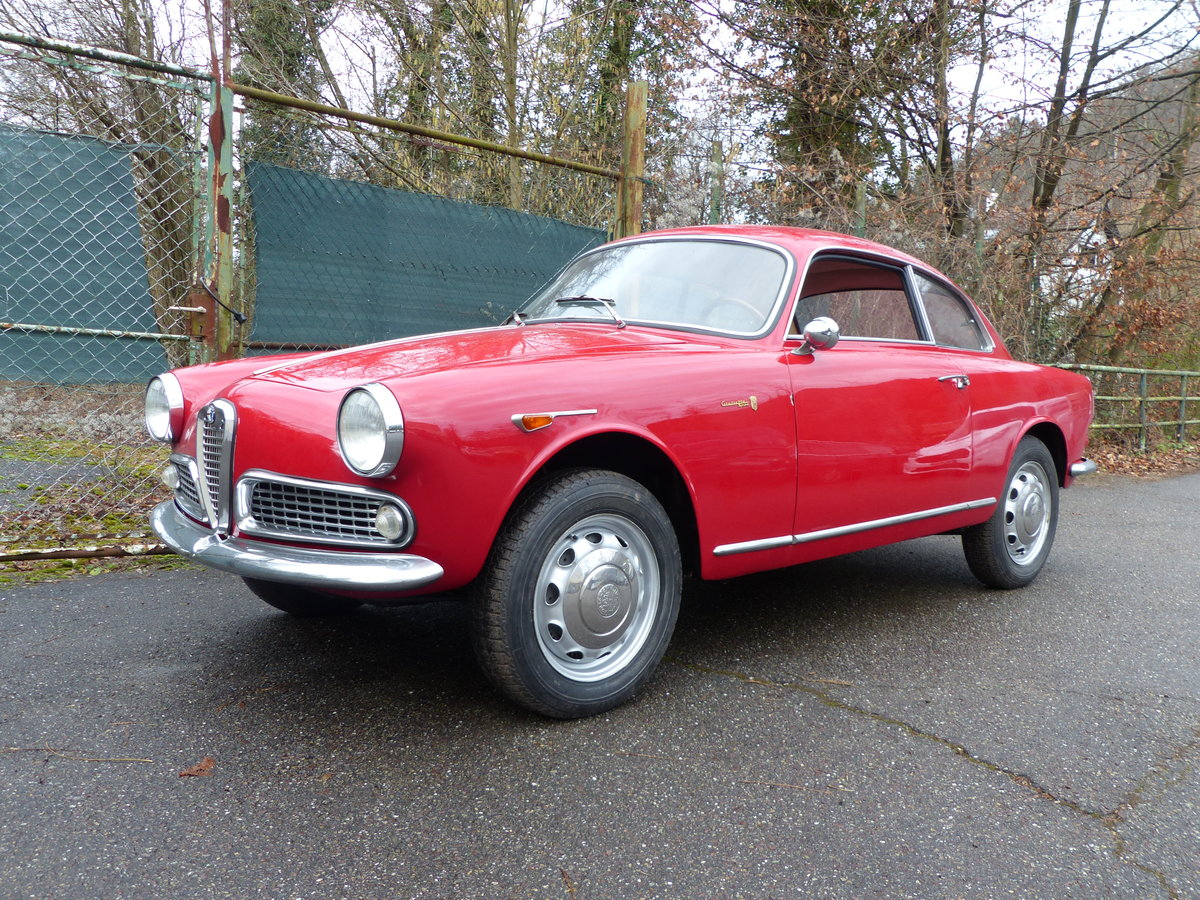 1960 Beautifully restored Giulietta Sprint 1300 engine overhauled For Sale (picture 1 of 6)