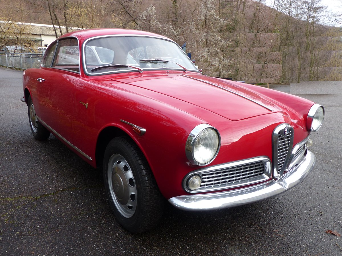 1960 Beautifully restored Giulietta Sprint 1300 engine overhauled For Sale (picture 2 of 6)