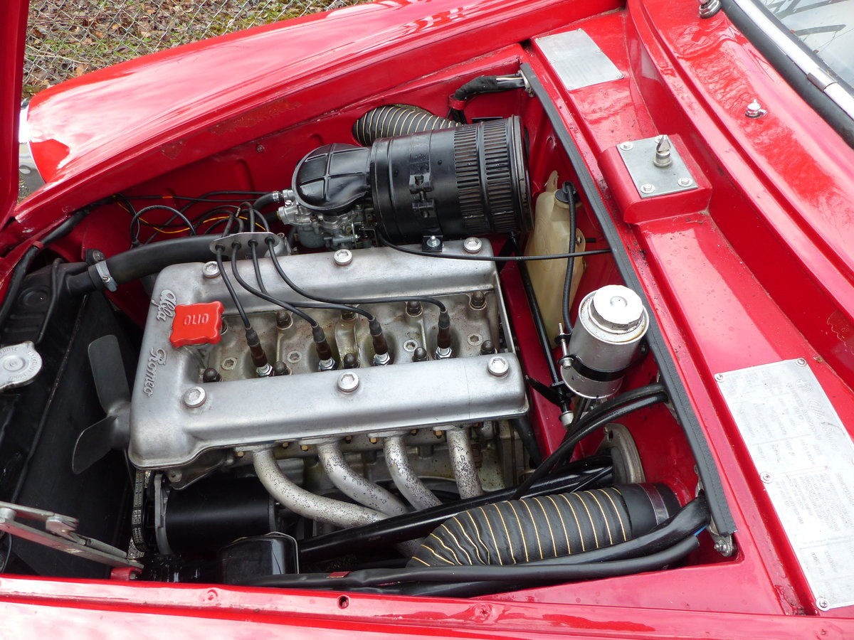 1960 Beautifully restored Giulietta Sprint 1300 engine overhauled For Sale (picture 5 of 6)
