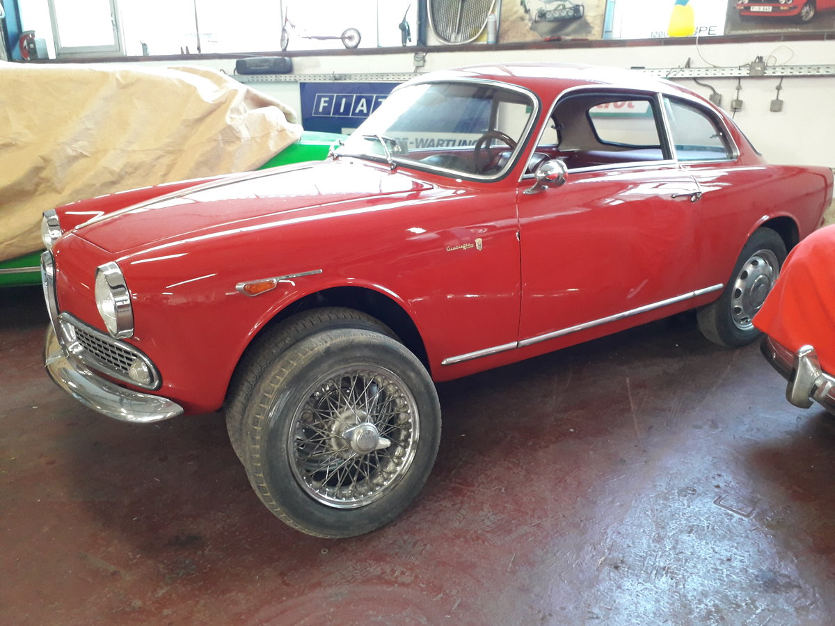 1960 Beautifully restored Giulietta Sprint 1300 engine overhauled For Sale (picture 6 of 6)