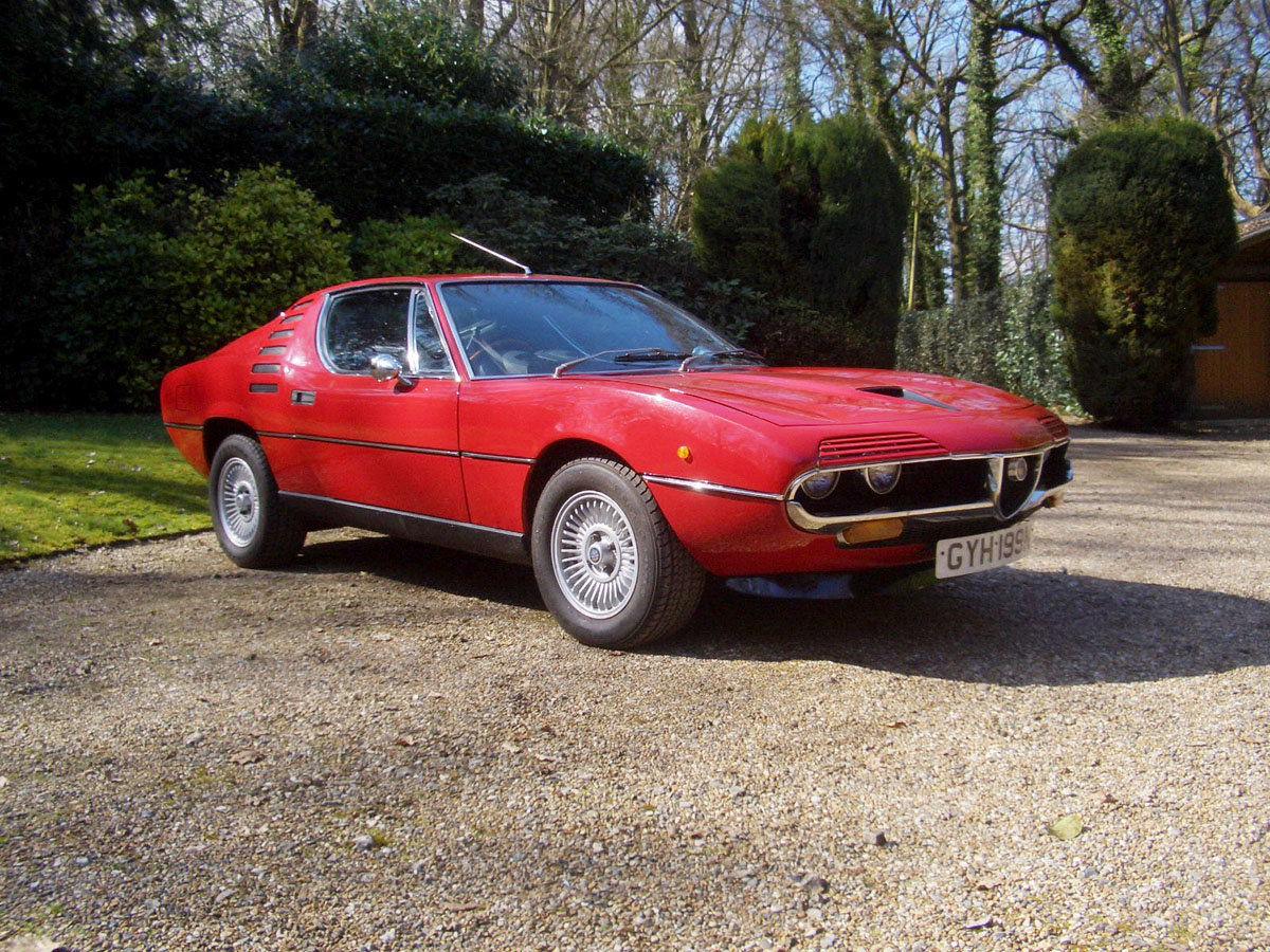 1974 Alfa Romeo Montreal 22 Feb 2020 For Sale by Auction (picture 1 of 6)