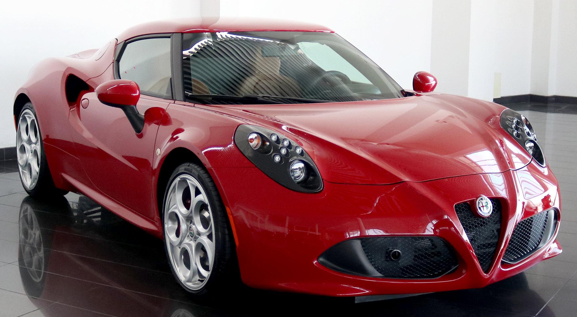 Alfa Romeo 4C Coupe (2017) For Sale (picture 1 of 6)