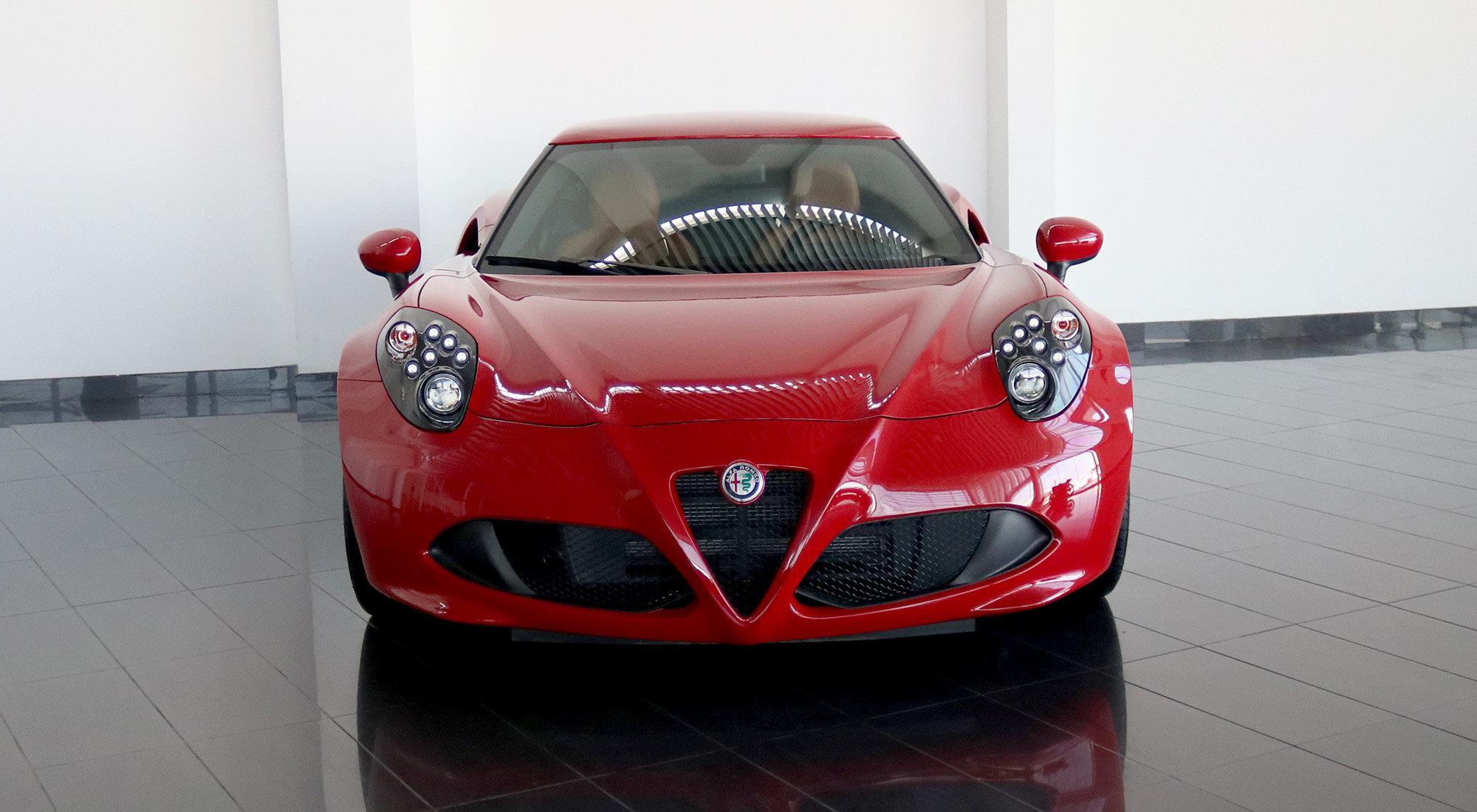 Alfa Romeo 4C Coupe (2017) For Sale (picture 2 of 6)