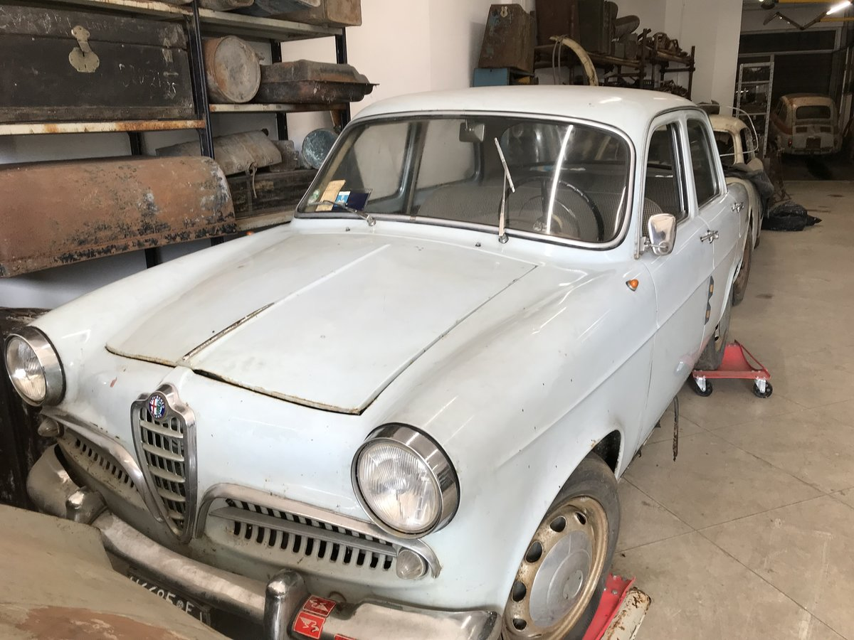 1959 Alfa Romeo Giulietta ti first series For Sale (picture 1 of 6)