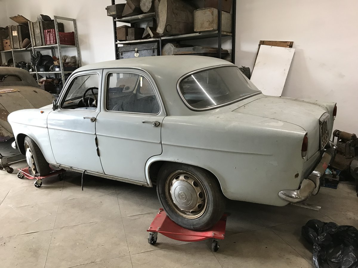 1959 Alfa Romeo Giulietta ti first series For Sale (picture 2 of 6)