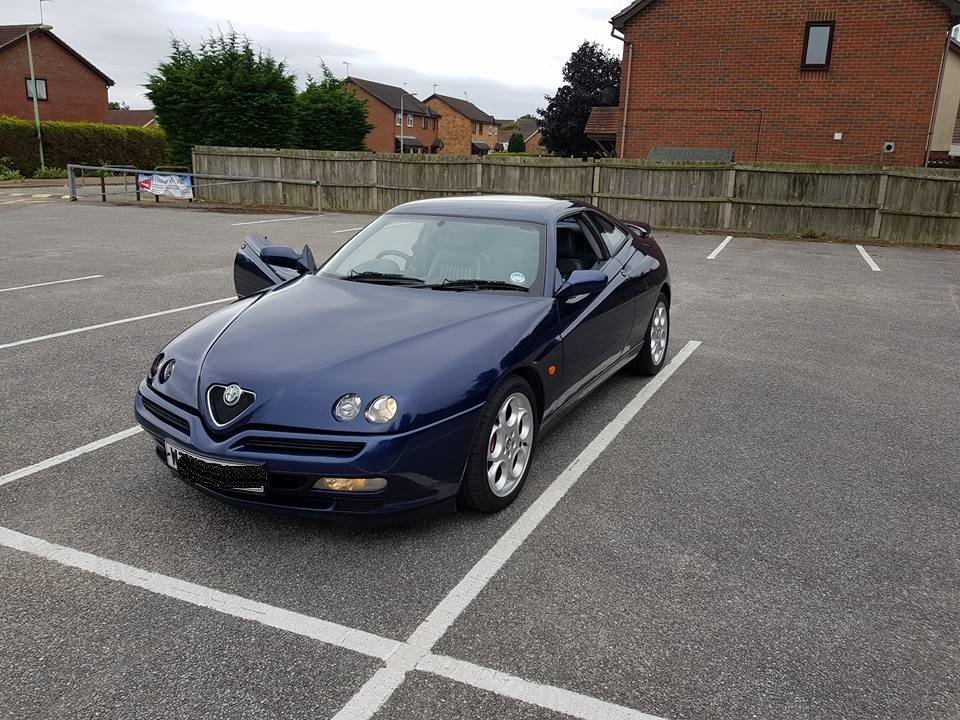 2000 alfa romeo gtv v6 55k lowered price ! For Sale (picture 5 of 6)