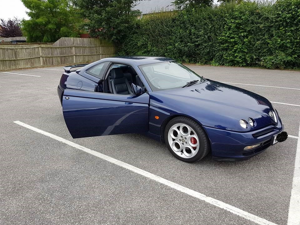 2000 alfa romeo gtv v6 55k lowered price ! For Sale (picture 6 of 6)