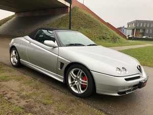 2002 Beautifull Alfa Romeo Spider 3.0 24V V6 L low mileage For Sale
