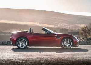 2010 Alfa Romeo 8C Spider For Sale by Auction
