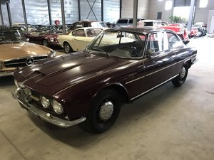 1963 Alfa Romeo 2600 Sprint California black plate car, very orig For Sale