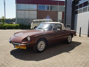 1979 Alfa Romeo Spider 1600 two owners, original Dutch delivered