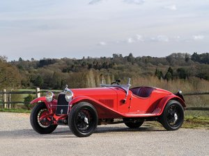 1930 Alfa Romeo 6C 1750 Series IV Gran Turismo Spider in the