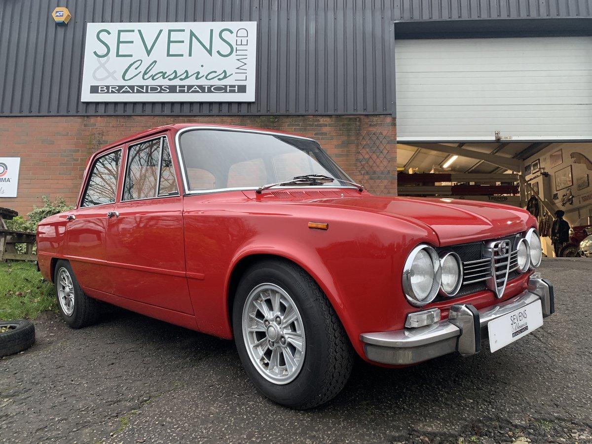 1969 Alfa Romeo Giulia Super 1600S For Sale (picture 1 of 6)