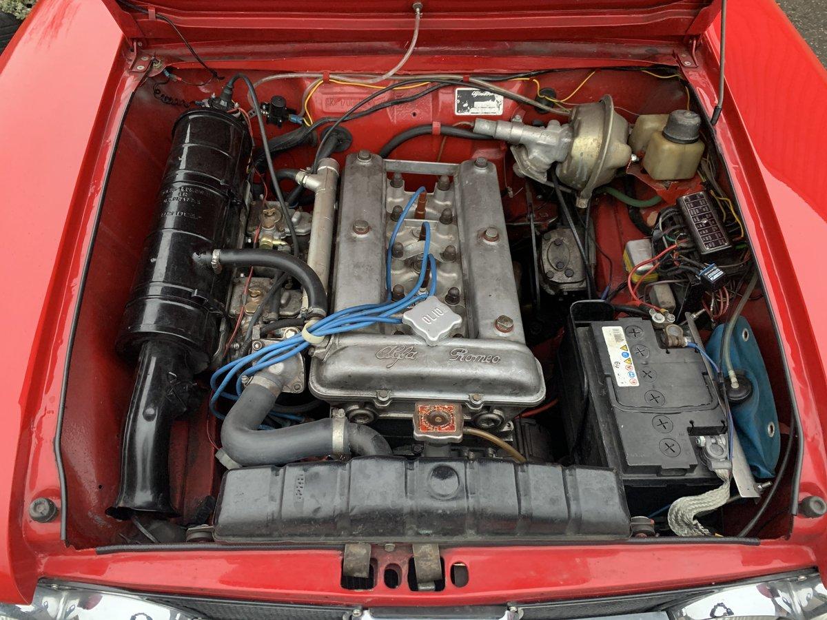1969 Alfa Romeo Giulia Super 1600S For Sale (picture 5 of 6)