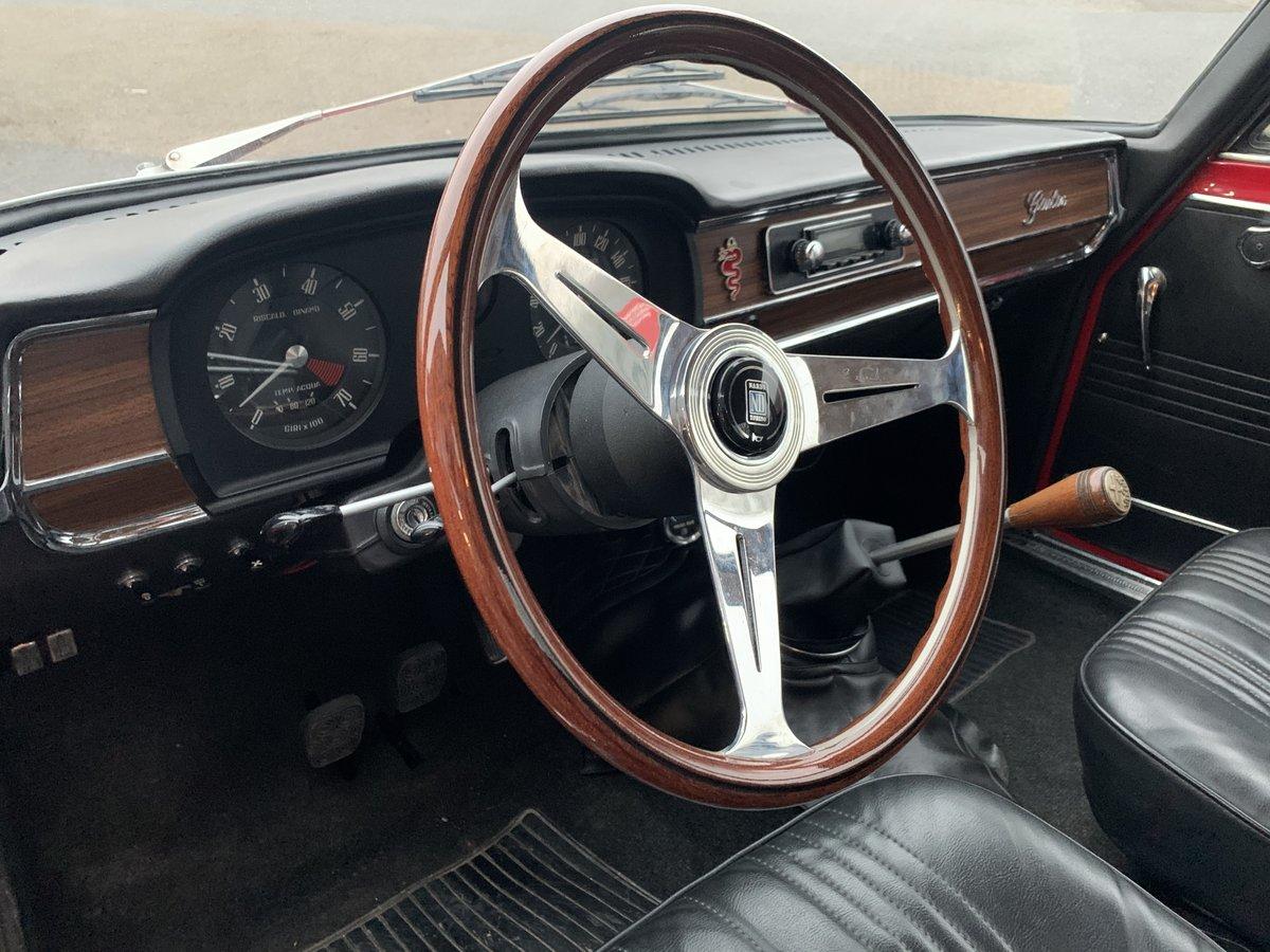 1969 Alfa Romeo Giulia Super 1600S For Sale (picture 6 of 6)