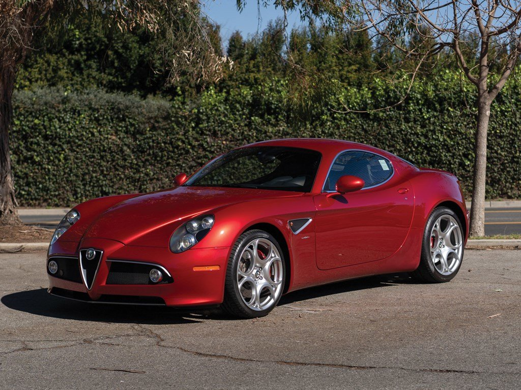 2008 Alfa Romeo 8C Competizione  For Sale by Auction (picture 1 of 6)