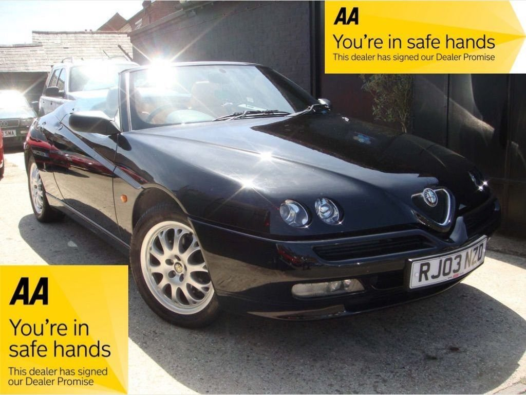 2003 Alfa Romeo Spider 2.0 T.Spark 16v Turismo 2dr SOLD (picture 1 of 6)
