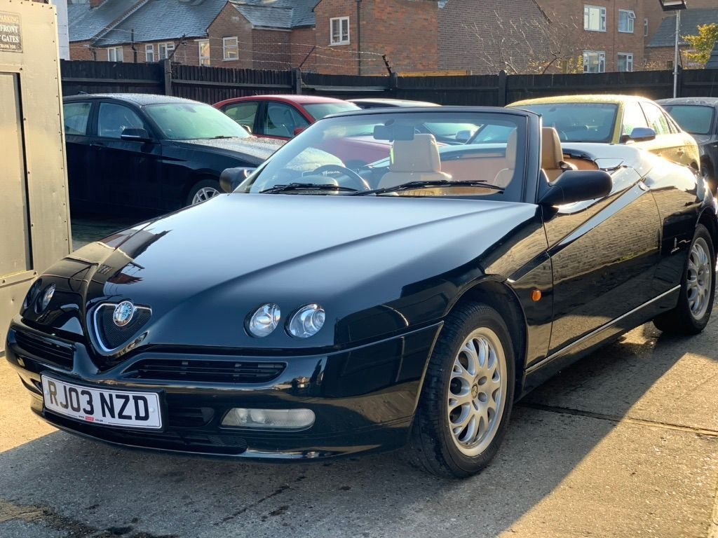 2003 Alfa Romeo Spider 2.0 T.Spark 16v Turismo 2dr SOLD (picture 2 of 6)