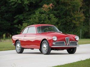 1961 Alfa Romeo Giulietta Sprint  For Sale by Auction