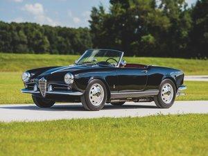 1959 Alfa Romeo Giulietta Spider  For Sale by Auction