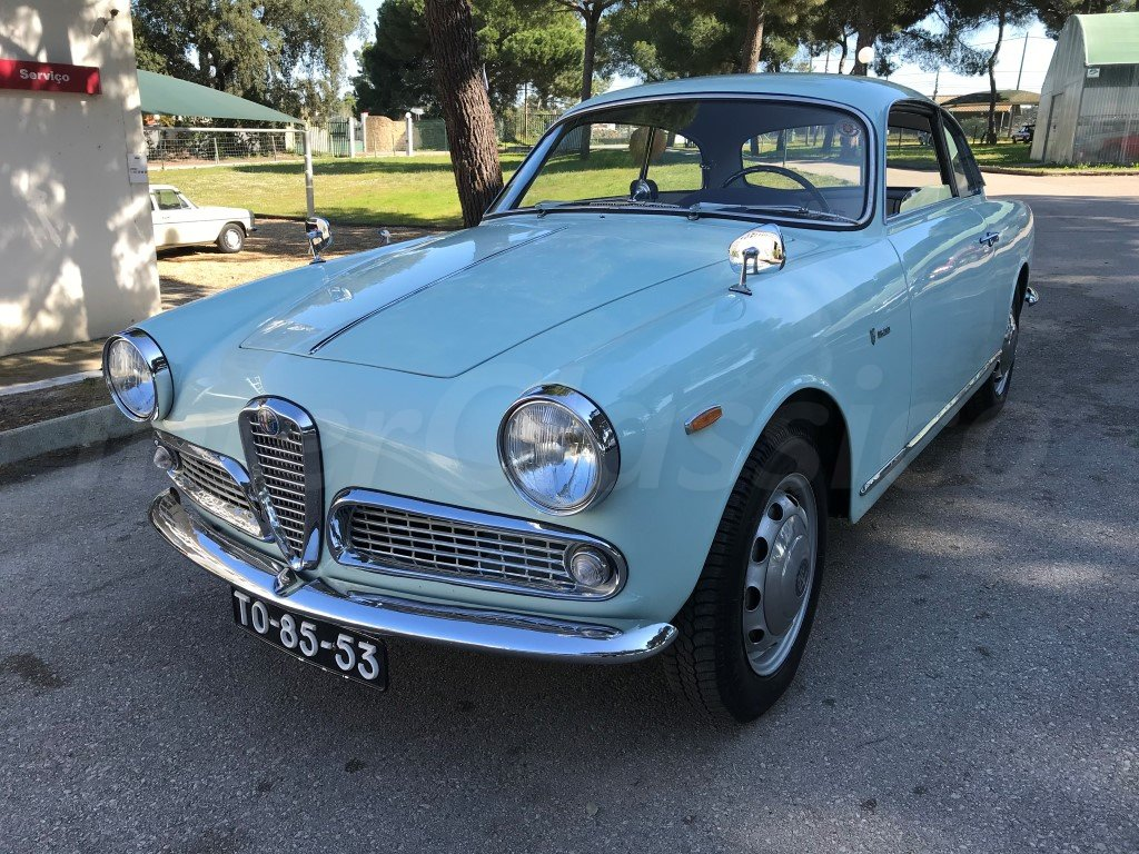 1963 Alfa Romeo Giulia Sprint 1600 For Sale (picture 1 of 6)
