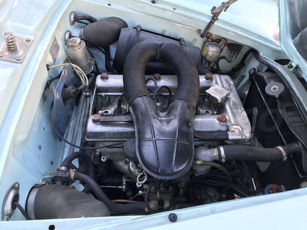 1963 Alfa Romeo Giulia Sprint 1600 For Sale (picture 5 of 6)