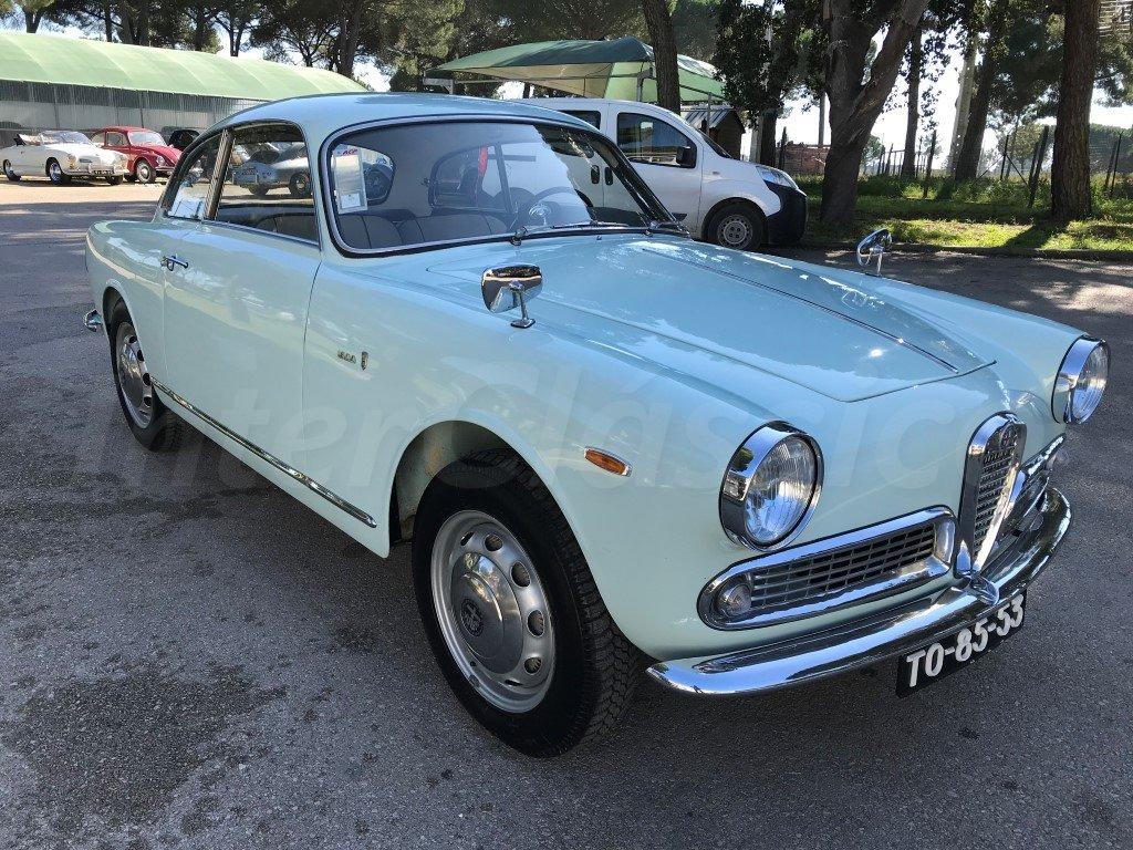 1963 Alfa Romeo Giulia Sprint 1600 For Sale (picture 6 of 6)