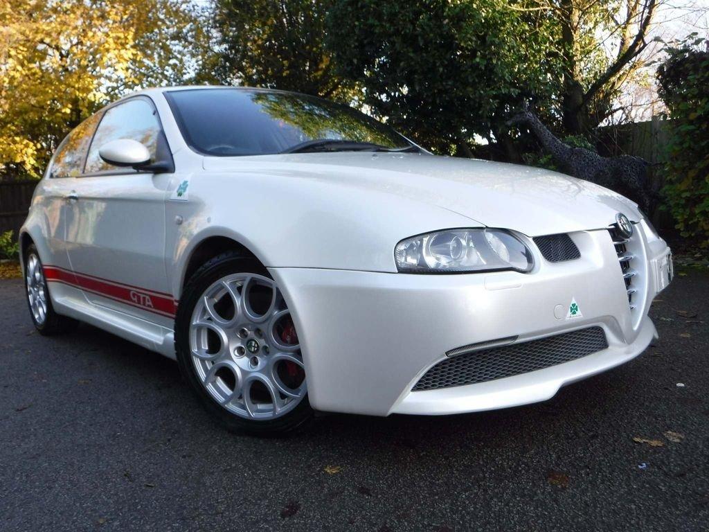 2004 Alfa Romeo 147 3.2 GTA 3dr NUVELLO BIANCO **RARE** For Sale (picture 1 of 6)