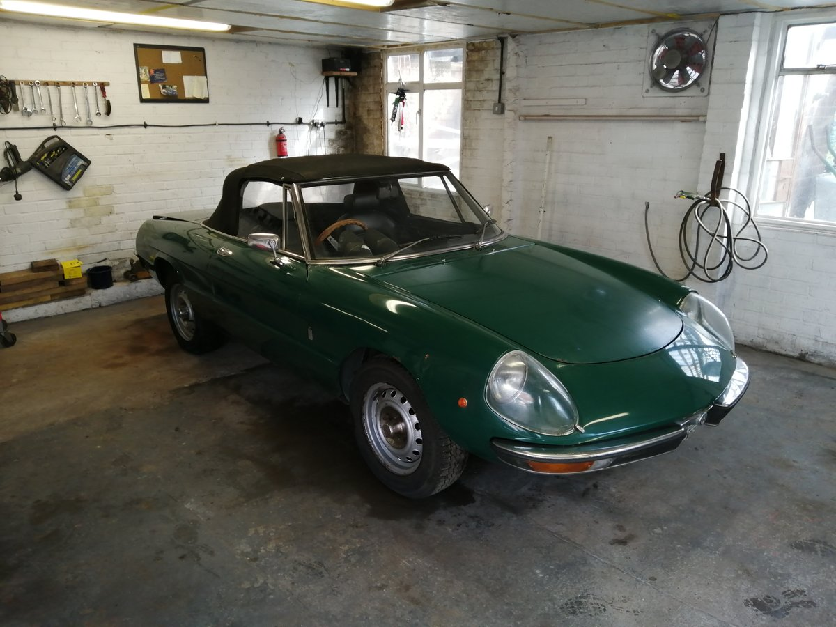 1975 Alfa Romeo Spider For Sale (picture 1 of 6)