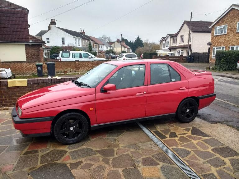 1996 Alfa Romeo 155 1.8 16v Wide Body For Sale (picture 1 of 6)