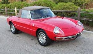 1967 Alfa Romeo Duetto Convertible Spider Red driver $45k