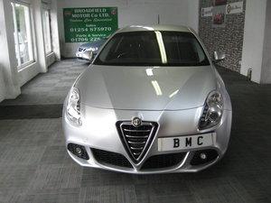 2012 12-reg Alfa Romeo Giulietta 1.6 JTDm-2 105 bhp Lusso