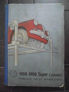 1957 Alfa 1900 Repair manual For Sale